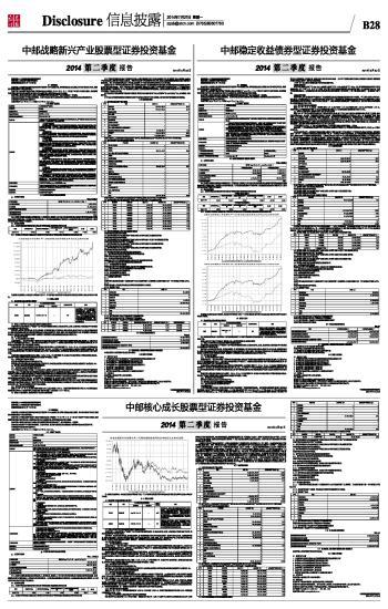 中邮核心成长股票型证券投资基金:中国基金报多媒体数字