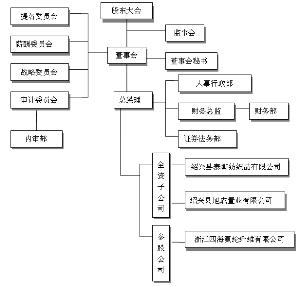 公司组织架构具体如下
